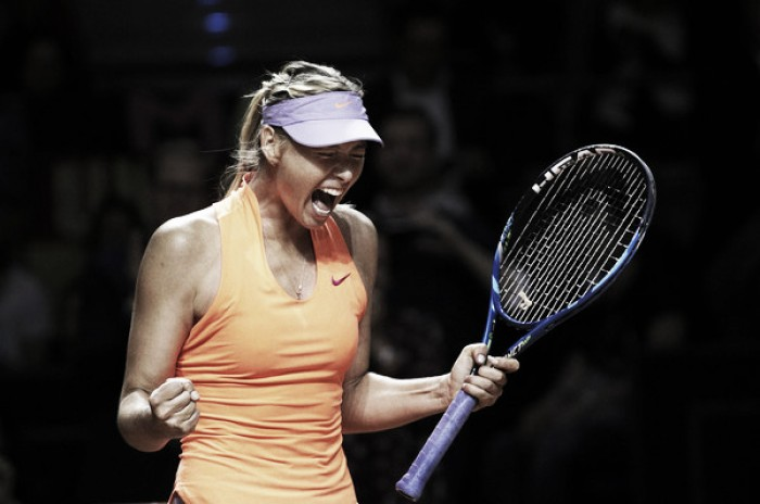 Takeaways from Maria Sharapova's first tournament back