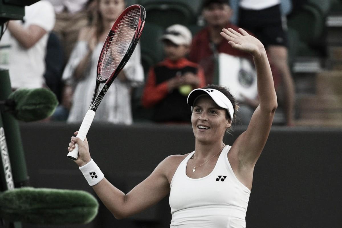 Maria surpreende e elimina Svitolina no 'apagar das luzes' na estreia em Wimbledon