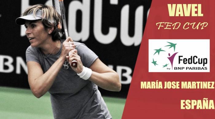 Fed Cup 2018. María José Martínez: la veteranía es un grado