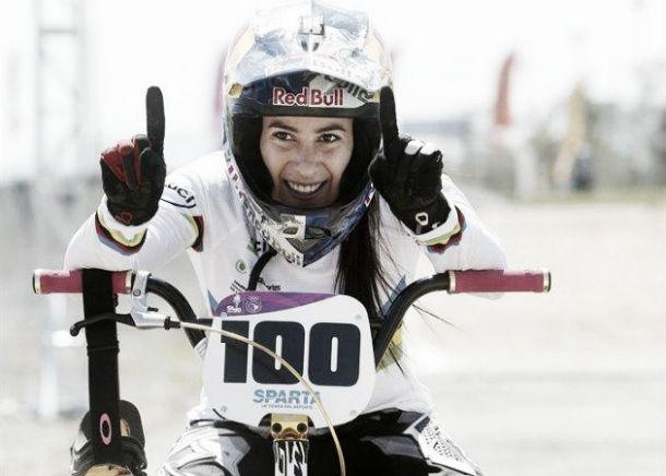 Mariana Pajón, campeona en la Copa Mundo de BMX en Holanda