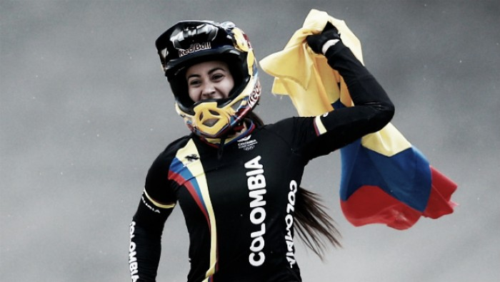 Colombiana conquista bicampeonato olímpico no Cilcismo BMX