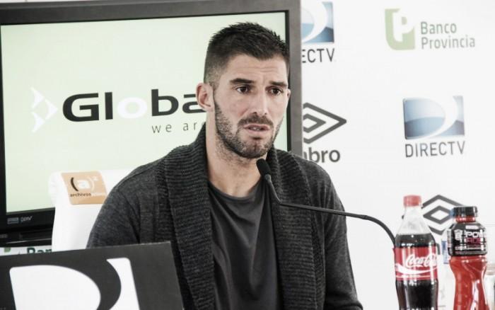 "Andújar: ""En Argentina difícilmente me vaya a otro club"""
