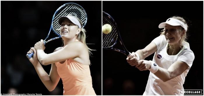 WTA Stuttgart second round preview: Maria Sharapova vs Ekaterina Makarova