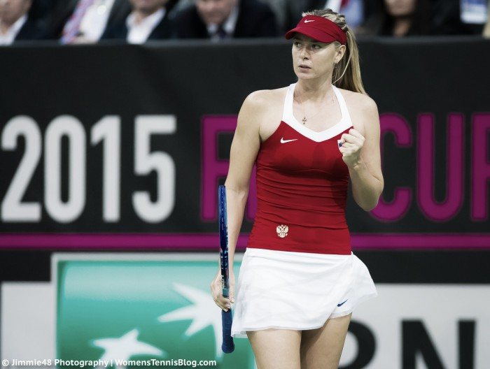 Maria Sharapova accepts a wildcard into the Kremlin Cup