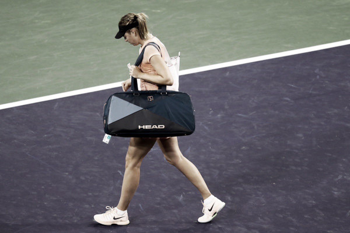 Sharapova To Miss Miami With Forearm Injury