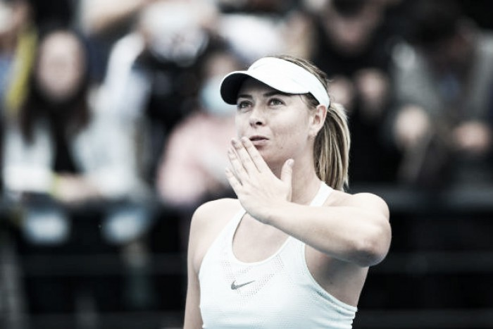 WTA Shenzhen: Maria Sharapova strolls to emphatic victory over Mihaela Buzarnescu