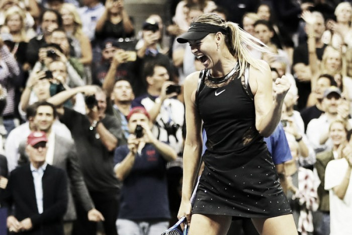 Top 10 Grand Slam Matches of 2017: #2 - Maria Sharapova stuns Simona Halep in US Open comeback thriller