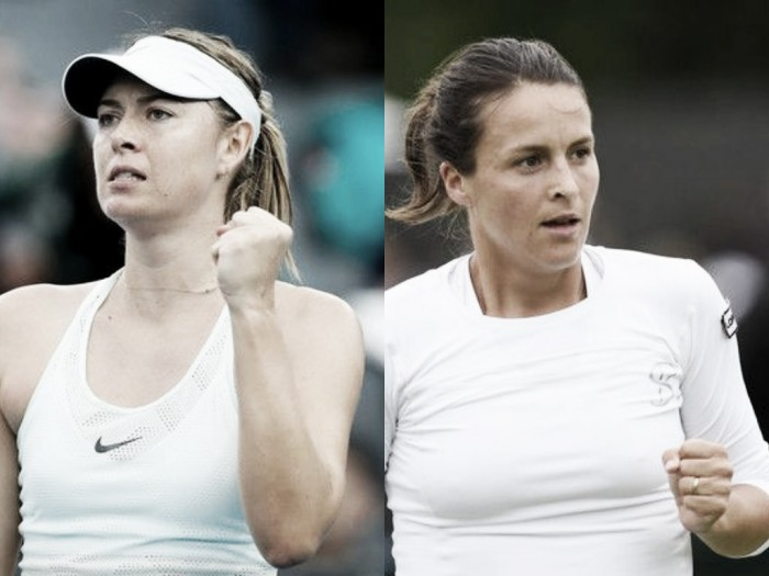 2018 Australian Open first round preview Tatjana Maria vs Maria Sharapova