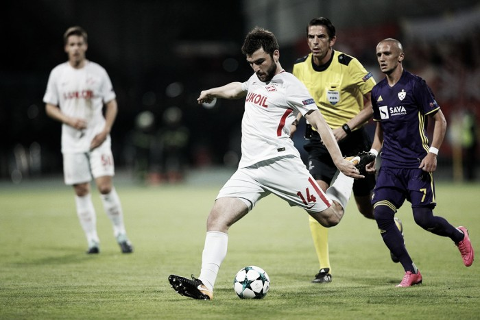 Champions League - Carrera frena in Slovenia, 1-1 tra Maribor e Spartak