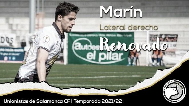 Antonio Marín renueva con Unionistas