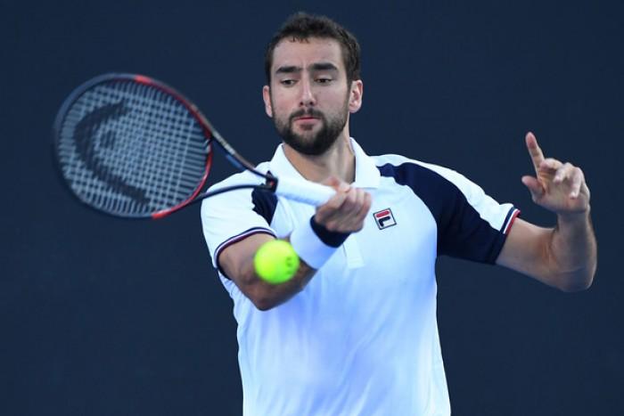 ATP Montpellier, esordio per Marin Cilic