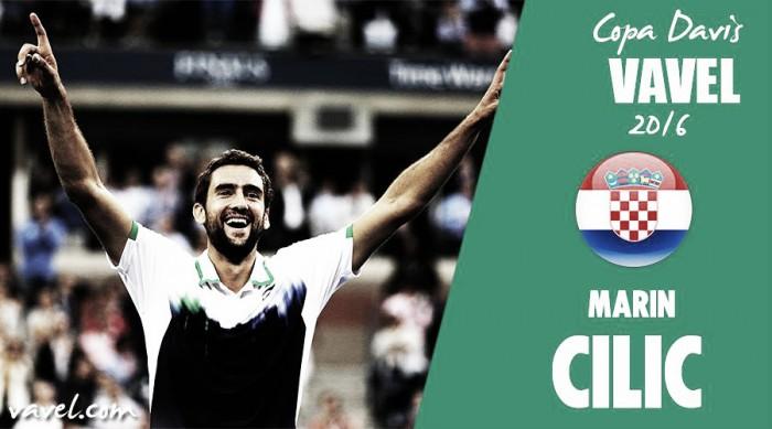 Copa Davis 2016. Marin Cilic: el coloso llega en forma