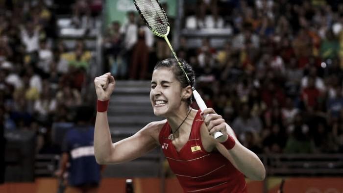 Carolina Marin vence de virada e faz história no Badminton feminino