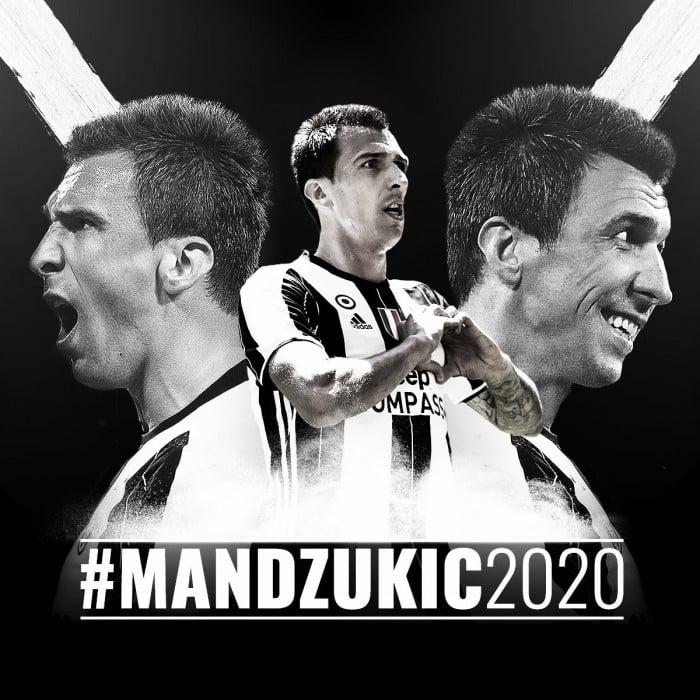 Mandzukic rinnova con la Juventus fino al 2020