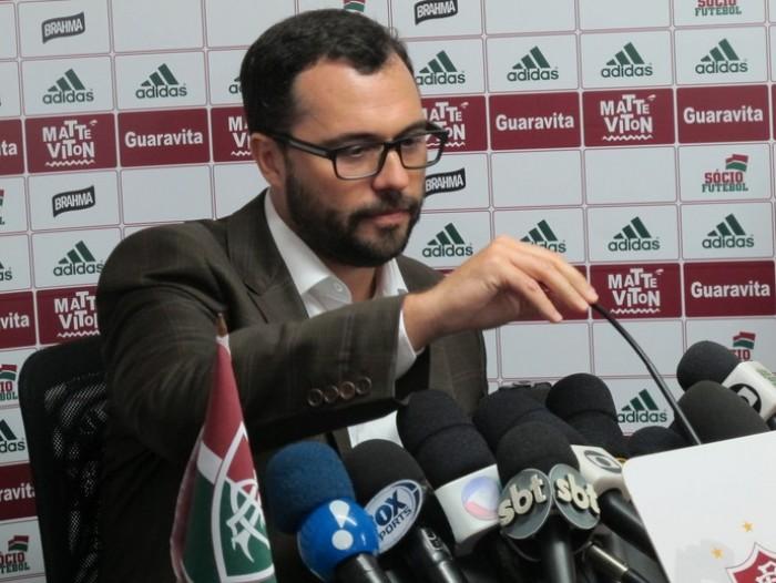 """Mário Bittencourt faz elogios a Xerém: """"Fábrica de talentos"""""""
