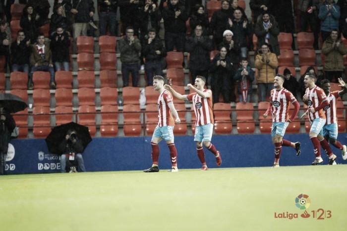 Lugo-Cultural: puntuaciones del CD Lugo, jornada 18 de LaLiga 1|2|3