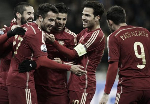 Ucraina - Spagna 0-1: a Kiev decide una testata di Gaspar