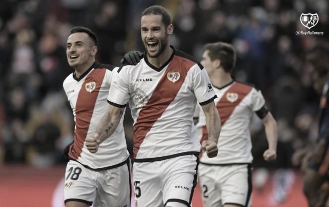 """Mario Suárez: """"El Rayo es de Primera, pero tenemos que hacer las cosas bien todos"""""""