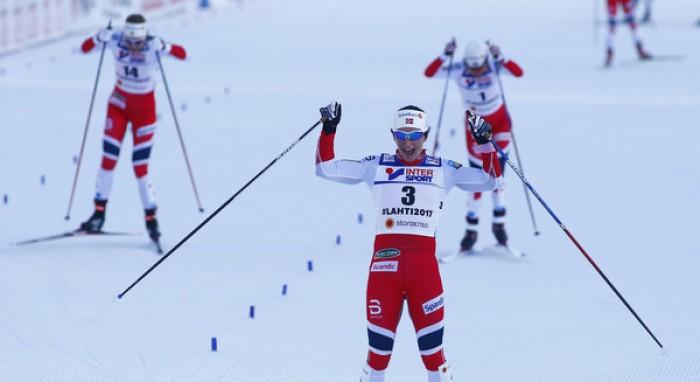 Lahti 2017 - 30km femminile: Bjoergen oro, la Norvegia monopolizza il podio
