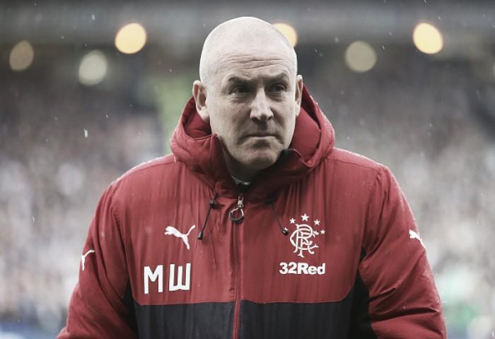 """Após revés, treinador Warburton vê progresso no Rangers: """"Estamos em um lugar melhor"""""""