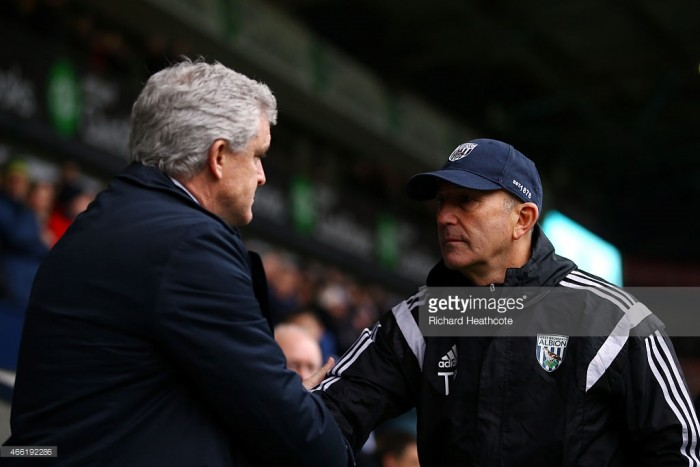 Stoke City vs West Bromwich Albion Preview: Pulis returns to the Potteries for his 1000th game as a manager