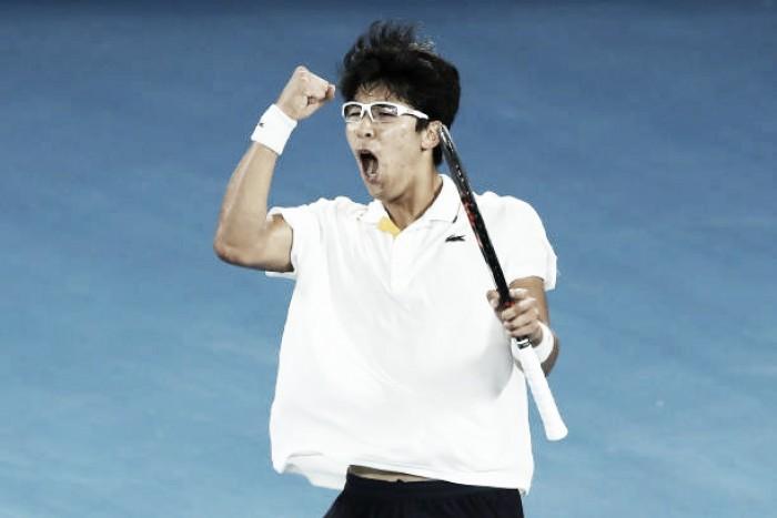 Australian Open: Hyeon Chung stuns Novak Djokovic