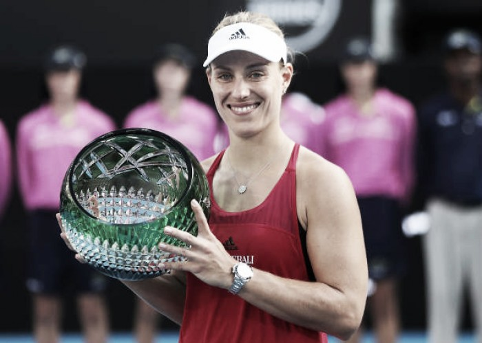 WTA Sydney: Angelique Kerber captures first title in 16 months