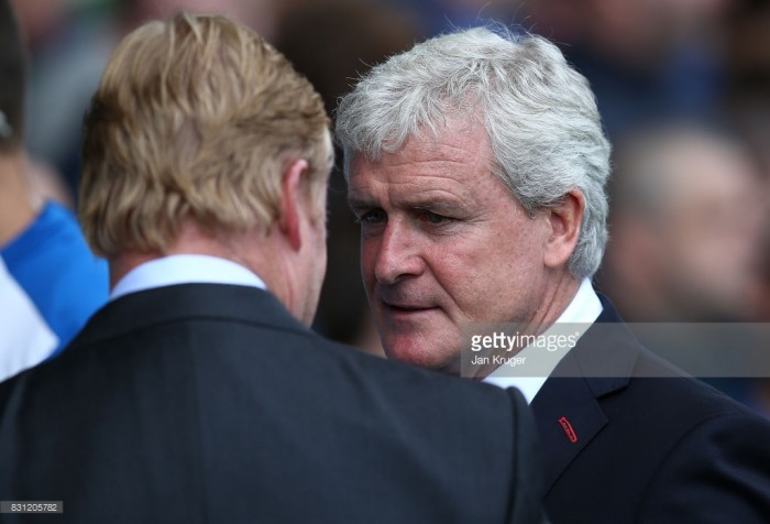 Mark Hughes content with Stoke City's summer transfer window