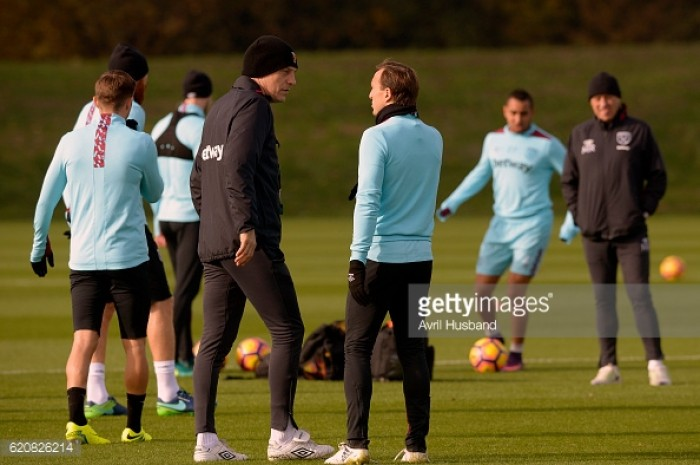 Noble and Collins share their delight on West Ham's return to the London Stadium