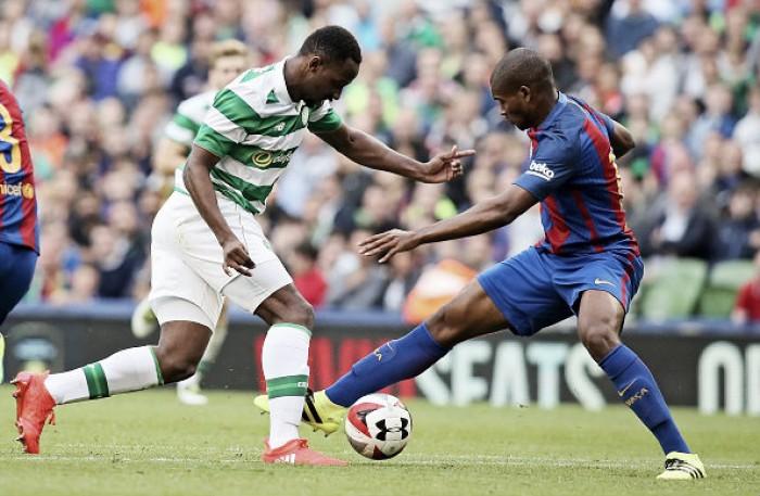 Marlon debuta con los grandesen Celtic Park