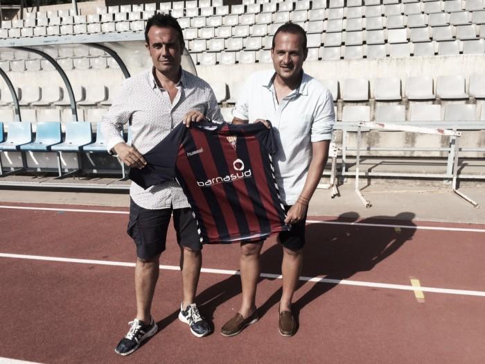 El CF Gavà presenta a Joan Mármol