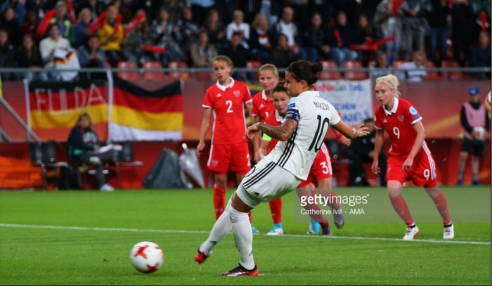 Euro 2017: Germany beat Russia to finish top of Group B