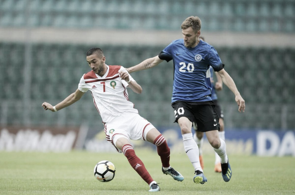 Hakim Ziyech vs Sardar Azmoun: un duelo de juventud en la apertura del Grupo B