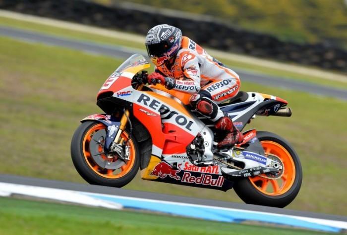 MotoGP, Gran Premio Aragona: Marquez pole stratosferica, Lorenzo terzo e Rossi sesto