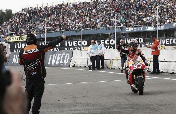 Marc Márquez establece la mejor racha de victorias de la era MotoGP