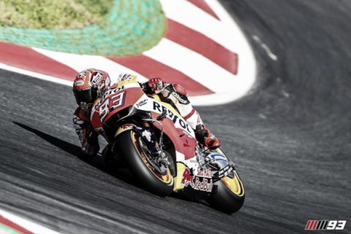 What a day it has been for current MotoGP championship leader Marquez
