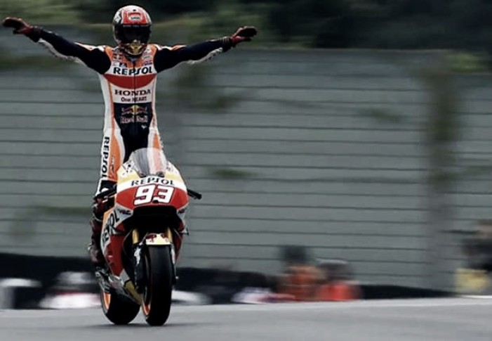 Marquez in the best position ready for the second half of the MotoGP season