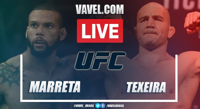Resultados e melhores momentos: Thiago Marreta vs Glover Teixeira no UFC Vegas 13