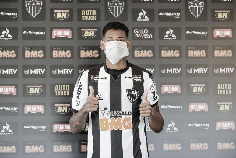 """Marrony celebra chegada ao Atlético-MG e promete entrega: """"Não tenho medo de nada"""""""