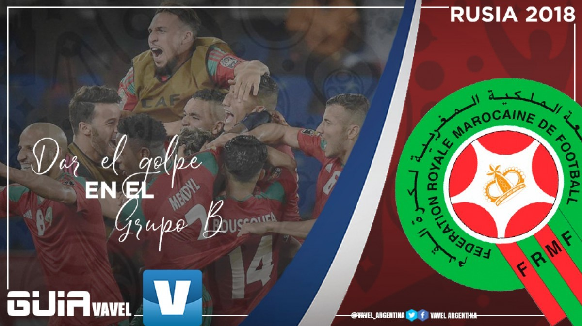 Guía selección marroquí 2018: dar el golpe en el grupo B