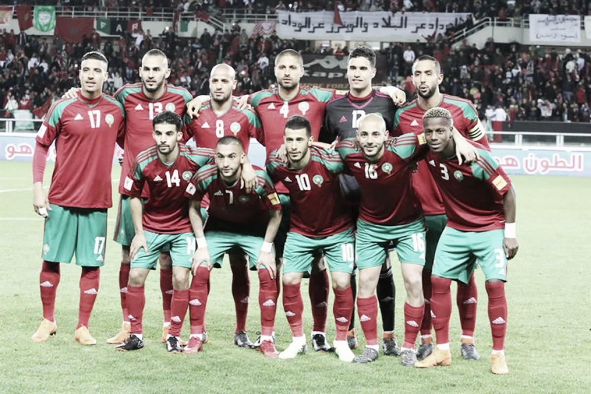 Análisis táctico de Marruecos 2018: un esquema que varía según el rival