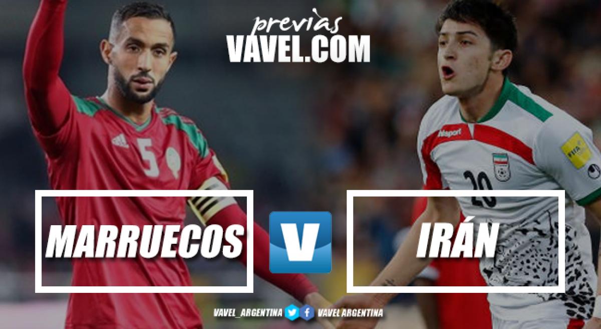 Previa Marruecos - Irán: en la lucha por un milagroso segundo lugar