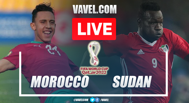 Goals and Highlights: Morocco 2-0 Sudan in African Qualifiers