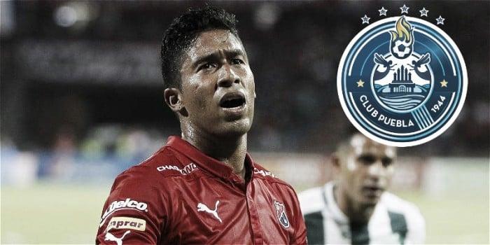 Puebla ofertó por Cristian Marrugo