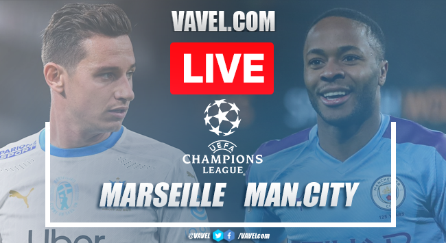 As it happened: Manchester City cruise to 3-0 victory over Olympique de Marseille