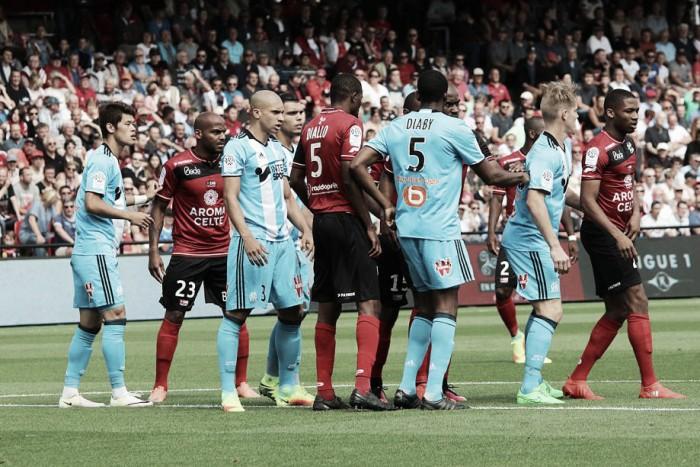 EA Guingamp - O. Marsella: comienzo para el olvido para los de Franck Passi