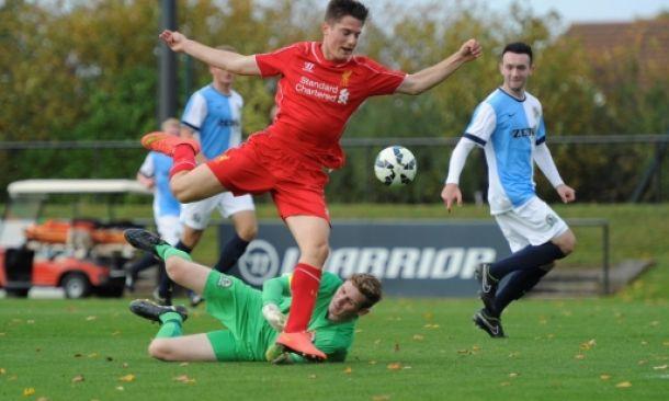 Liverpool U18s 5-0 Blackburn U18s: Will Marsh nets hat-trick as Young Reds return to winning ways