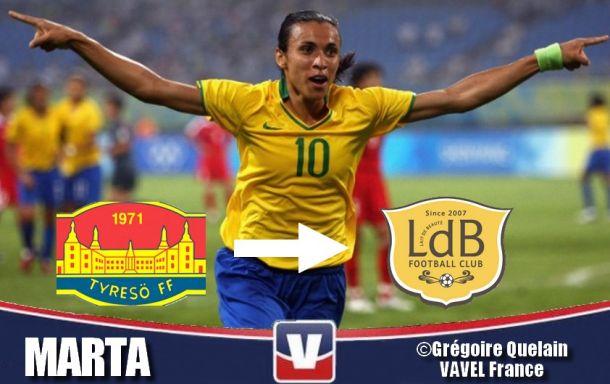 Officiel : Marta signe au FC Rosengard