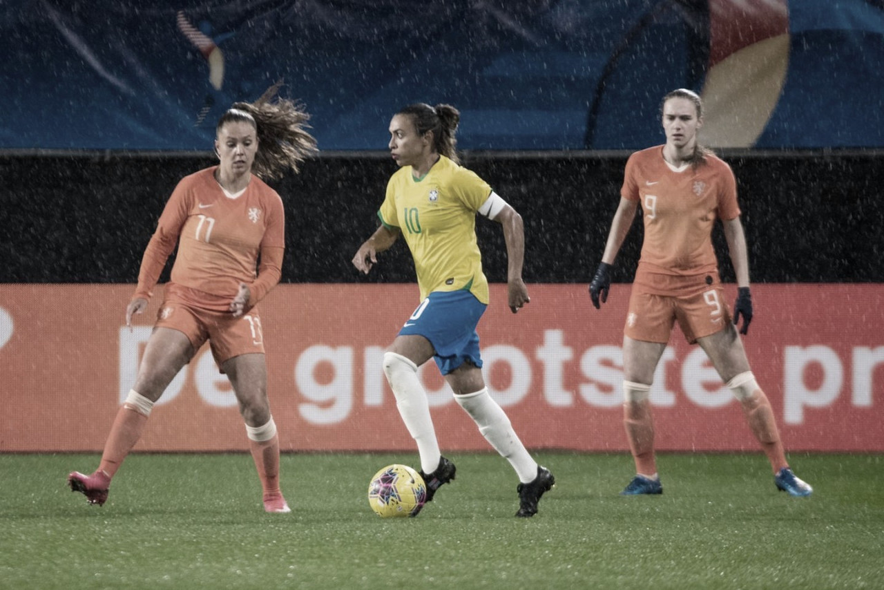 """Pia Sundhage comenta empate contra Holanda: """"Jogamos contra um dos melhores times do mundo"""""""