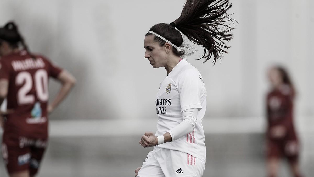 El Real Madrid Femenino enseña los dientes frente al Logroño